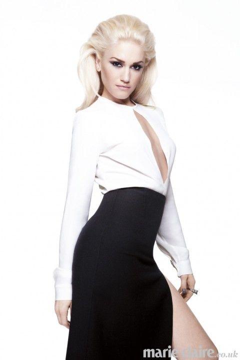 HOTNESS! Gwen Stefani for Marie Claire UK.