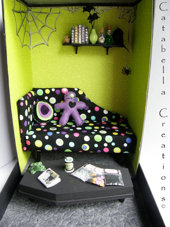 Witch Themed Box Room By CatabellaCreations On Etsy, $50.00