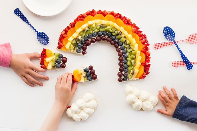a delicious tart you'll be over the rainbow about!