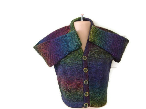 Childs sweater boys cardigan button front by AnnabellesWardrobe, £12.00