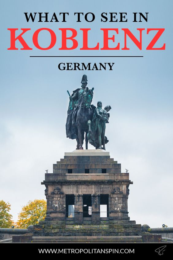 Planning a trip to Koblenz? Check out these awesome sights! #koblenz #germany #europe #travel