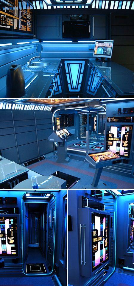 A Look at the Real-Life Star Trek Apartment - TechEBlog