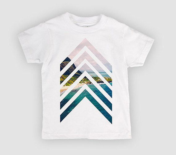 Chevron design Tee- Infant - baby clothing, Toddler tee- Hipster Kid Clothes - Modern - Kids Clothing - Toddler Clothing - Toddler Tee