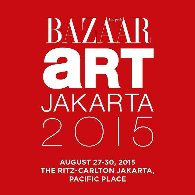 Art:1 will participate in Bazaar Art Jakarta 2015,Ritz Carlton Jakarta 2015. See you there!