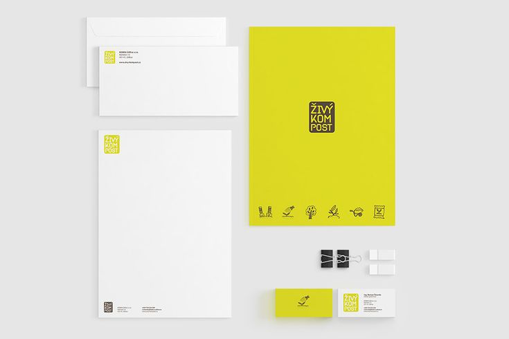 Živý Kompost Corporate Identity | BPR Creative