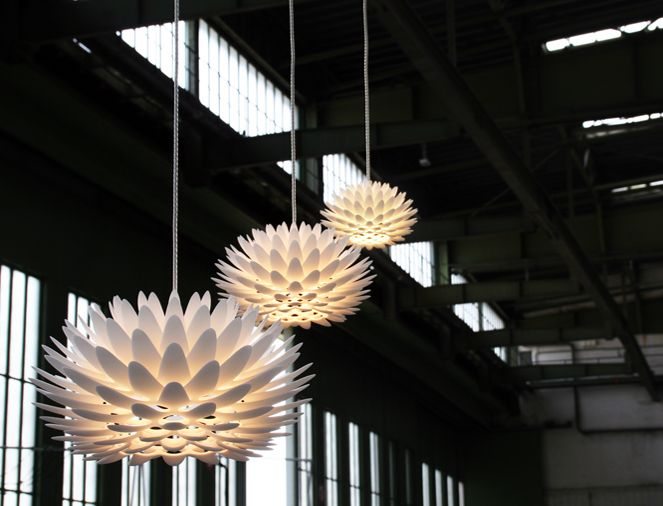 Palm perhaps the most beautiful pendant ever designed and produced using 3 dimensional printing