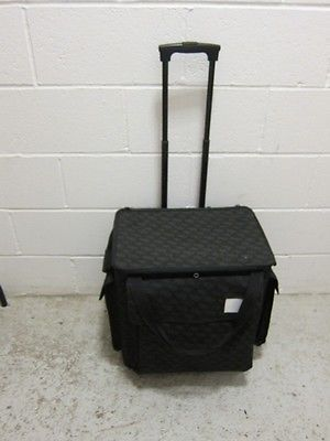 Pampered Chef Trolley/Catering Bag/Sewing-Craft Bag/Wheeled Case • £30.00 - PicClick UK