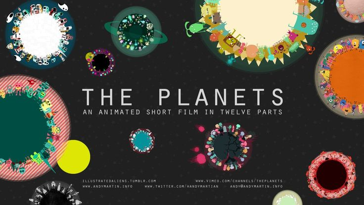 The Planets Work by Andy Martin