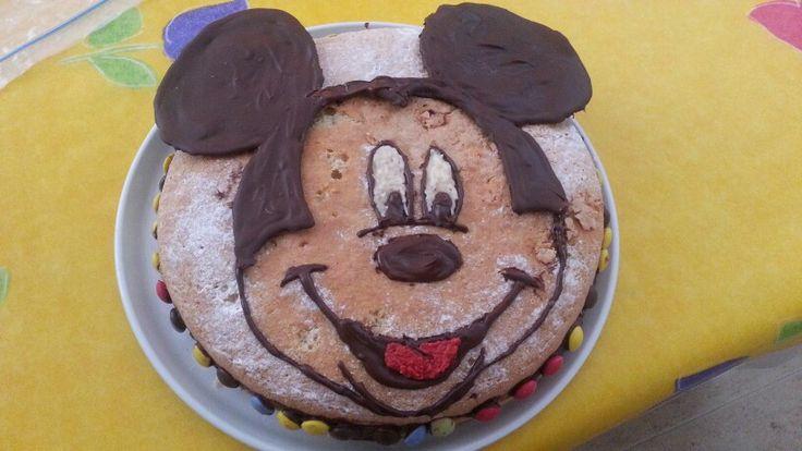 Pastis cara Mickey per a cumple Aleix