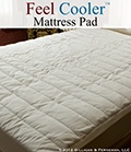 The Feel Cooler™  Cooling Mattress Pad