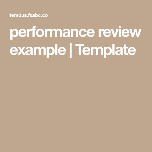 8 best Employee evaluation images on Pinterest Performance - format of performance appraisal form