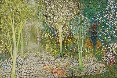 Richard Cartwright, The Patio Garden,   2011