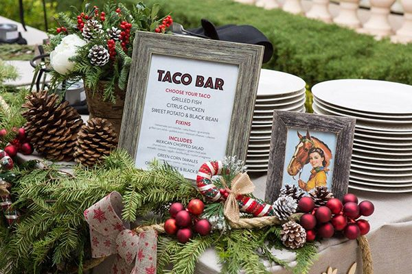 We'll help you celebrate in style and we can bring the party to you with Border Grill Catering. | Southern California holiday parties