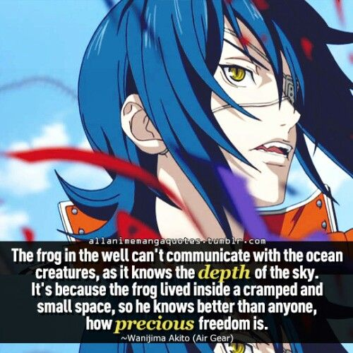 Anime Quote: Air Gear
