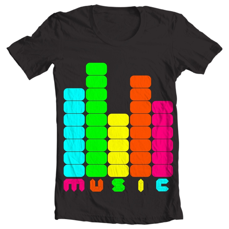 catchy colors that represent the soul of electronic music