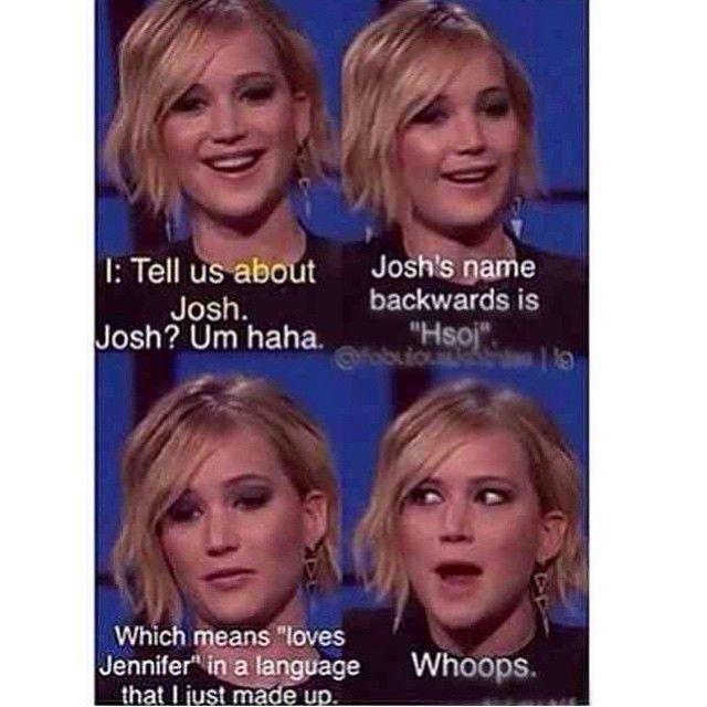 Hahahaha we lve Jennifer