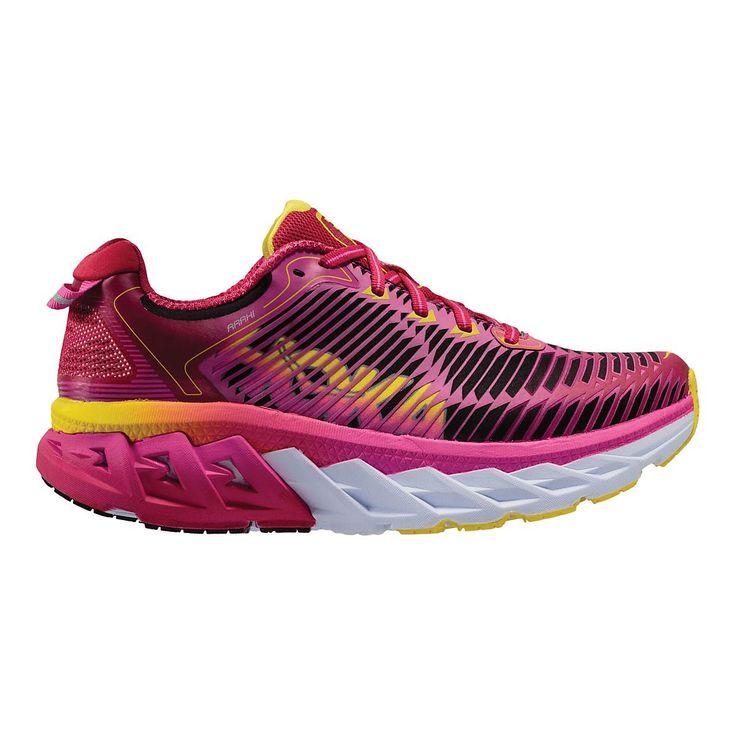 Welcome to the future of the stability running shoe, the Womens Hoka One One Arahi