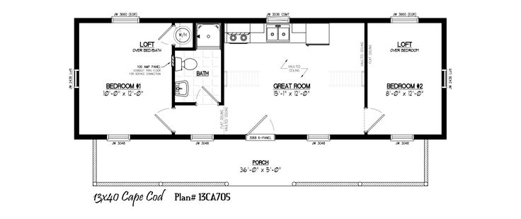 69 best ideas about little cabins on pinterest shelters for 14x40 mobile home floor plans