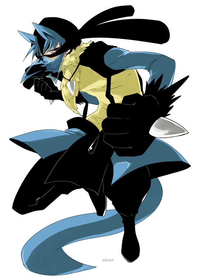 tags anime fight stance pok233mon nintendo lucario