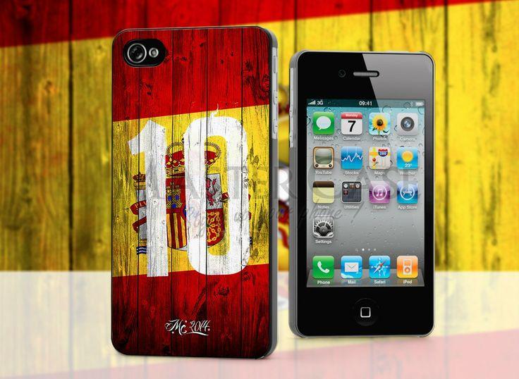 L'Espagne à aussi sa coque iphone rouge et jaune !
