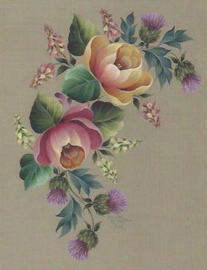 Arist Maureen McNaughton | Roses and Thistles and Heather #564 - Maureen McNaughton
