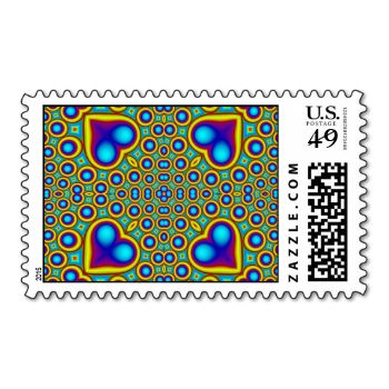 A Circle and hearth pattern ine the color purple grenn blue #abstract #pattern #kaleidoscope #unique #unique-looks #trendy #yellow #blue #stylish #circle #green #heart #multicolored #circle-layers #colorful