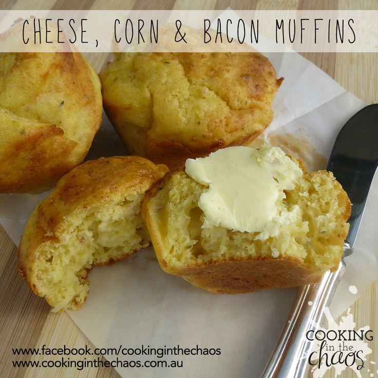 Savoury Muffins - Thermomix Recipe