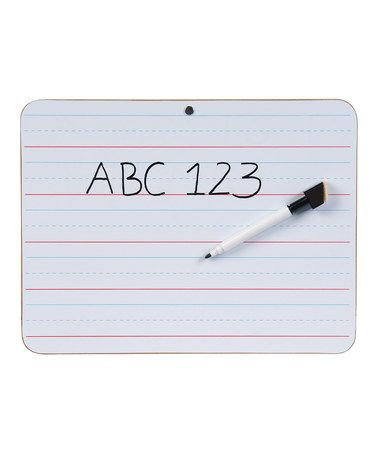 Take a look at this Double Sided Dry-Erase Whiteboard - Set of 12 on zulily today!