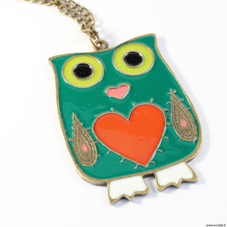 Necklace 'Vintage Owl'