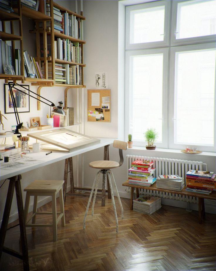 8 best Home Art Studio images on Pinterest | Art studio ...