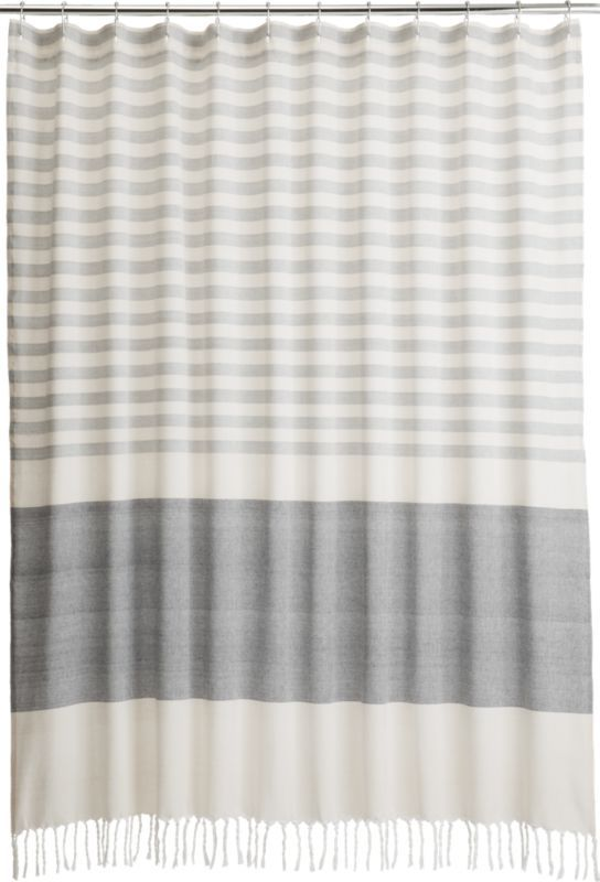 Shop CB2 for modern, unique shower curtains designed to suit - Best 25+ Shower Curtains Ideas On Pinterest Guest Bathroom