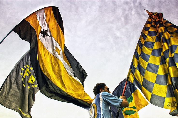 Fenerbahçe flags