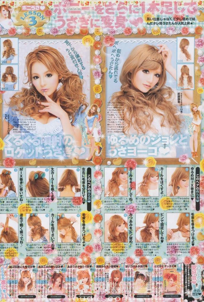 Saica: Gyaru Hair-Styles