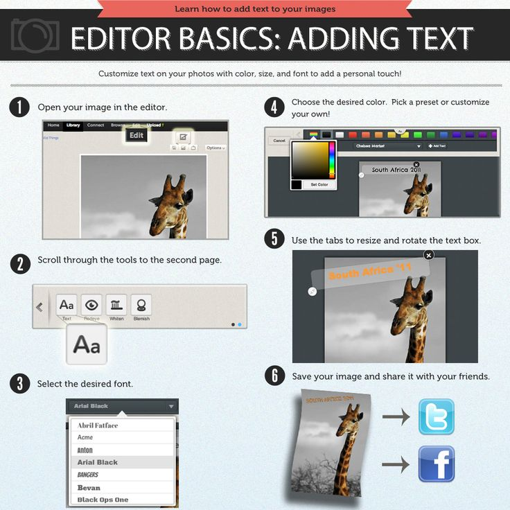 How To Add Text to Your Photos by Photobucket_Tutorials | Photobucket