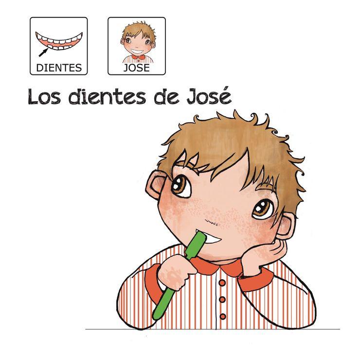 """""""Los dientes de José"""" -  Proyecto sin ánimo de lucro que consiste en la creación, producción y difusión de cuentos infantiles adaptados a pictogramas para niños con autismo y otras necesidades especiales de aprendizaje, http://www.aprendicesvisuales.com/cuentos/"""
