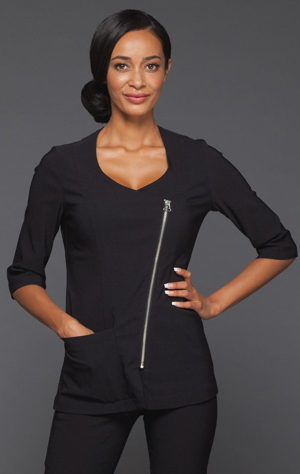 25 best chi couture uniforms images on pinterest spa for White spa uniform uk