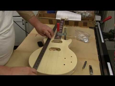 Electric Guitar Kit Review presented by Newwoodworker.com. Recently Rockler started carrying Unfinished Electric Guitar Kits for hobby woodworkers. This do-it-yourself guitar kit allows you to create your own custom style guitar with the finish of your choice.