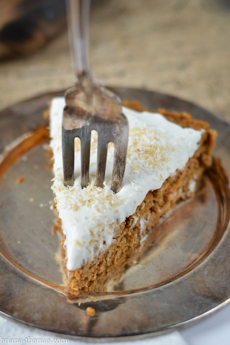 Carrot Cake With Cream Cheese Frosting Thm Flour