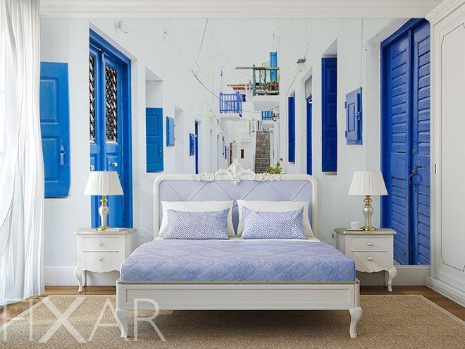 Die besten 25+ Griechisches schlafzimmer Ideen auf Pinterest - schlafzimmer mediterran