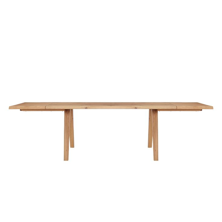 BuyJohn Lewis Croft Collection Lorn 6 10 Seater Extending Dining Table Oak Online At
