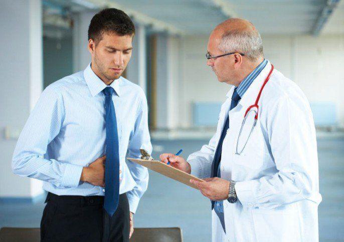 Dolor en el abdomen superior izquierdo