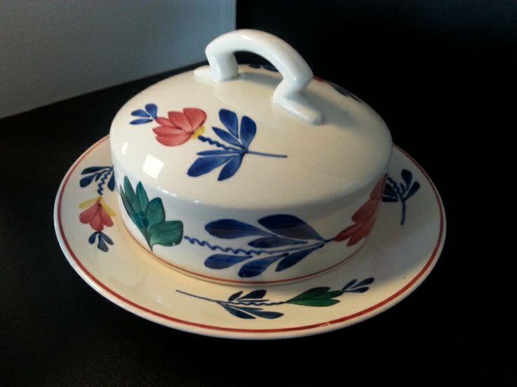 Oud Boerenbont SC 483a Botervloot | Boerenbont Societe Ceramique 483a | Webwinkel Servies Merij