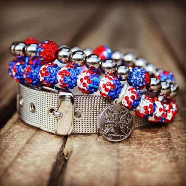 Tailgate Red/White/Blue – Rustic Cuff