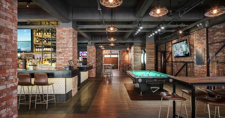 ©Seth Powers. The Camel Sports Bar in Shanghai. Designed by Hannah Churchill of hcreates.