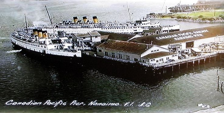 Canadian Pacific Pier Nanaimo
