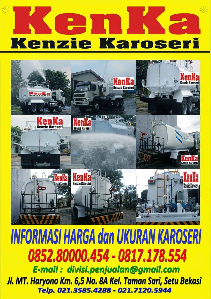 KAROSERI TRUCK TANGKI WATER CANON >> KAROSERI KENKA