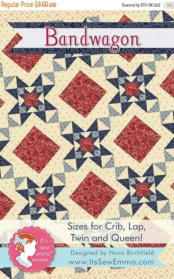 AMONG THE STARS QUILTING PATTERN From It/'s Sew Emma NEW