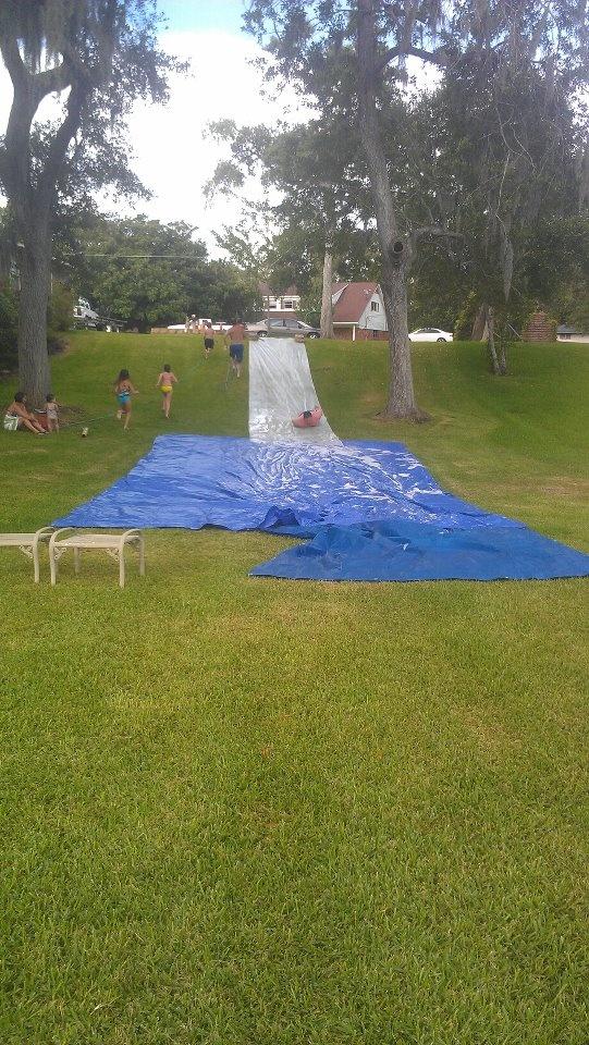 adult slip and slide...