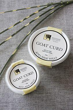 Goat Curd - Woodside Cheese Wrights in Australia - #goatvet