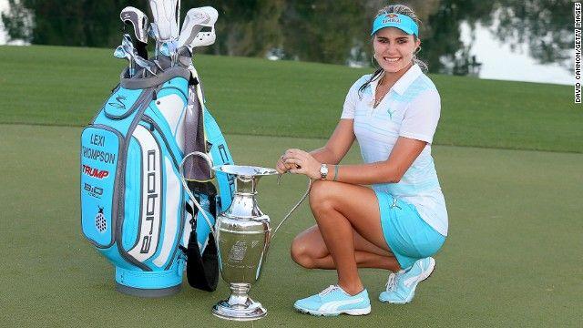 U.S. teenager Lexi Thompson wins first major title - CNN.com
